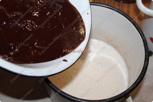 С Днем Всех Влюбленных!!!! Вот такую вкусноту я испекла любимому))) Брауни с вишней и творогом, мммм... фото 10