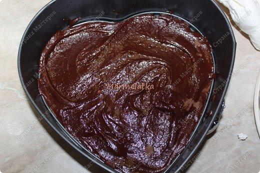 С Днем Всех Влюбленных!!!! Вот такую вкусноту я испекла любимому))) Брауни с вишней и творогом, мммм... фото 12