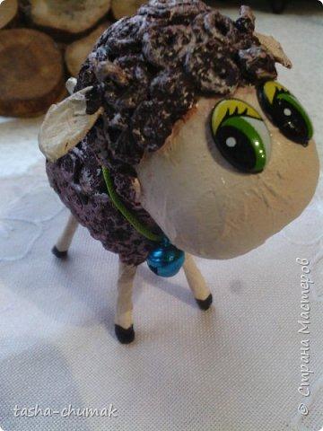 Помните мою овечку?  ( https://stranamasterov.ru/node/842183 )   Я сделала её по МК Лианы ( https://stranamasterov.ru/node/754719?c=favorite )  Замучилась крутить барашки!... фото 1
