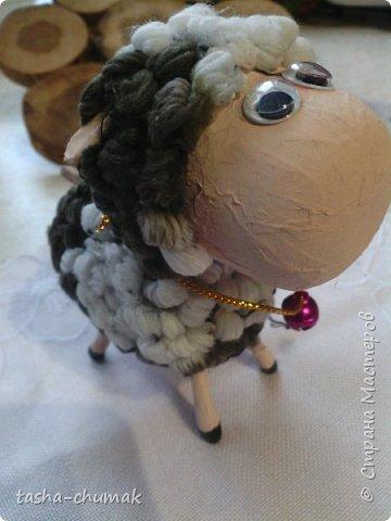 Помните мою овечку?  ( https://stranamasterov.ru/node/842183 )   Я сделала её по МК Лианы ( https://stranamasterov.ru/node/754719?c=favorite )  Замучилась крутить барашки!... фото 2