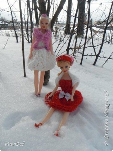 Здравствуй, Страна! Сегодня я к Вам с куколками. Это наши домашние красавицы, обновила им наряды. фото 1
