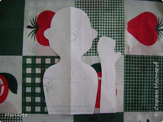 Когда я начала шить эту пакетницу, в голове у меня была совсем другая идея... )))))) фото 3