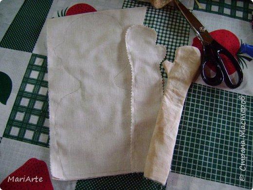 Когда я начала шить эту пакетницу, в голове у меня была совсем другая идея... )))))) фото 7