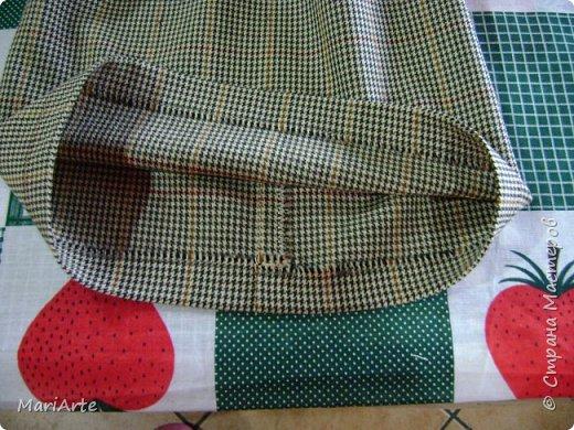 Когда я начала шить эту пакетницу, в голове у меня была совсем другая идея... )))))) фото 10