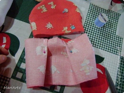Когда я начала шить эту пакетницу, в голове у меня была совсем другая идея... )))))) фото 13
