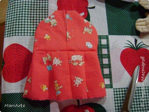 Когда я начала шить эту пакетницу, в голове у меня была совсем другая идея... )))))) фото 14