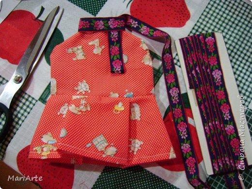 Когда я начала шить эту пакетницу, в голове у меня была совсем другая идея... )))))) фото 15