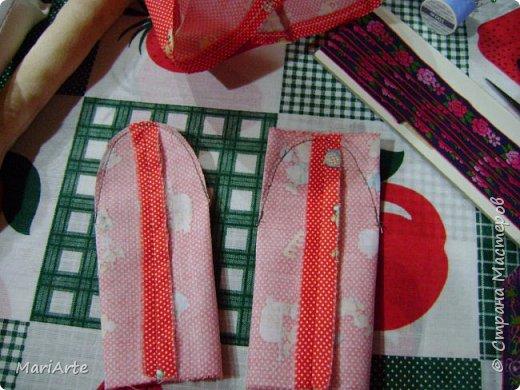 Когда я начала шить эту пакетницу, в голове у меня была совсем другая идея... )))))) фото 16