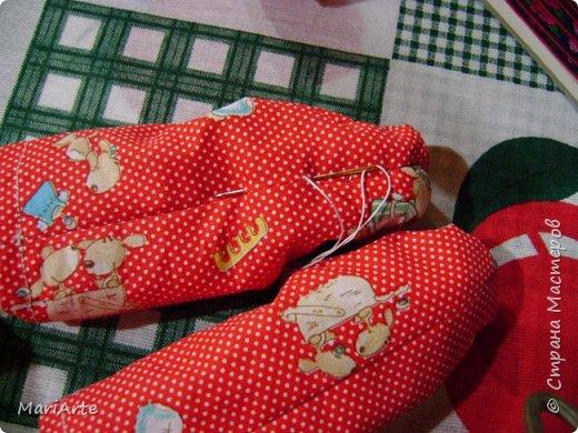 Когда я начала шить эту пакетницу, в голове у меня была совсем другая идея... )))))) фото 17