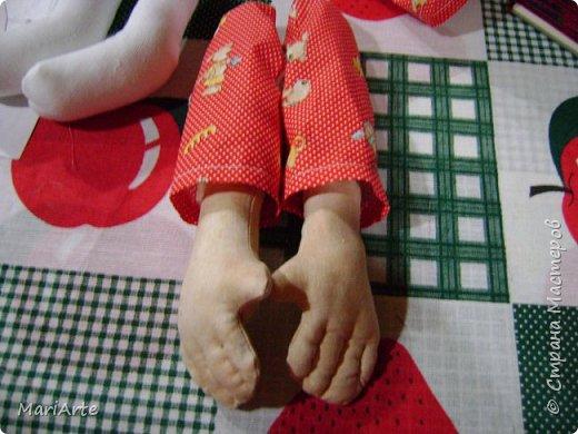 Когда я начала шить эту пакетницу, в голове у меня была совсем другая идея... )))))) фото 19