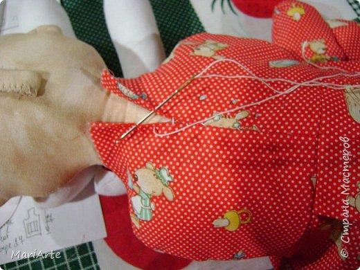 Когда я начала шить эту пакетницу, в голове у меня была совсем другая идея... )))))) фото 20