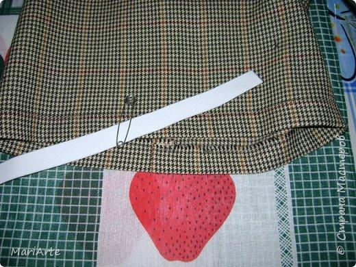 Когда я начала шить эту пакетницу, в голове у меня была совсем другая идея... )))))) фото 21