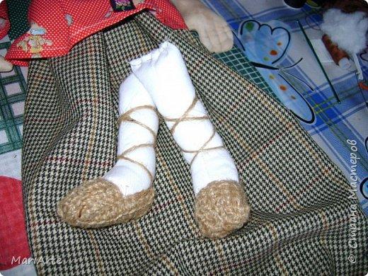 Когда я начала шить эту пакетницу, в голове у меня была совсем другая идея... )))))) фото 24