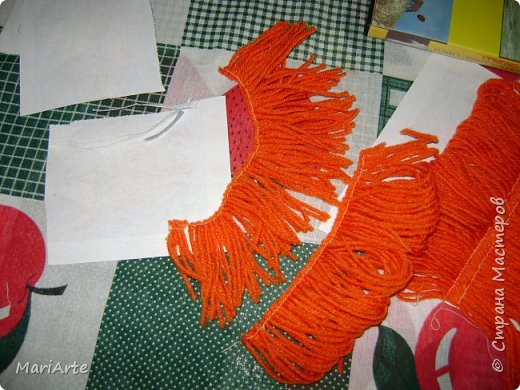 Когда я начала шить эту пакетницу, в голове у меня была совсем другая идея... )))))) фото 29