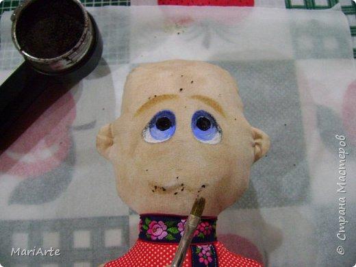 Когда я начала шить эту пакетницу, в голове у меня была совсем другая идея... )))))) фото 35