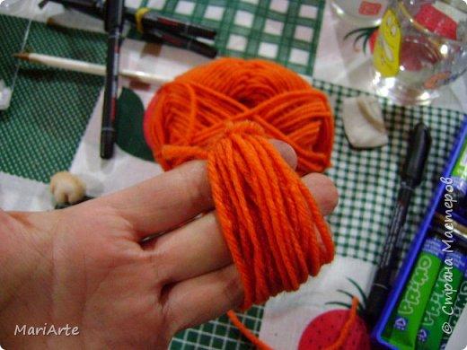 Когда я начала шить эту пакетницу, в голове у меня была совсем другая идея... )))))) фото 40