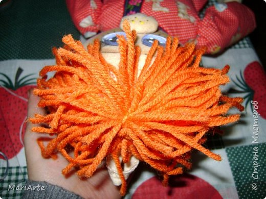 Когда я начала шить эту пакетницу, в голове у меня была совсем другая идея... )))))) фото 41