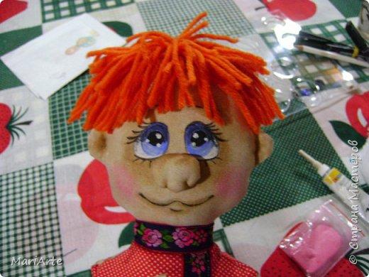Когда я начала шить эту пакетницу, в голове у меня была совсем другая идея... )))))) фото 42