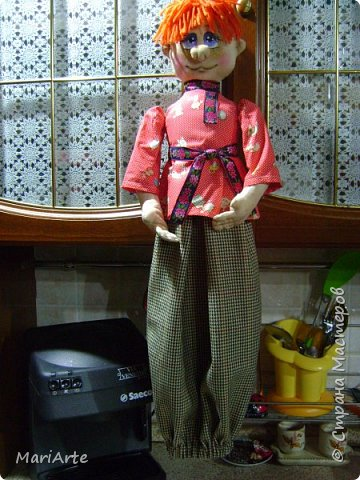 Когда я начала шить эту пакетницу, в голове у меня была совсем другая идея... )))))) фото 43