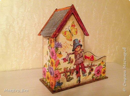 Вот такой уютный чайный домик. фото 2
