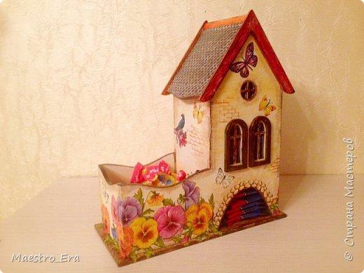 Вот такой уютный чайный домик. фото 1