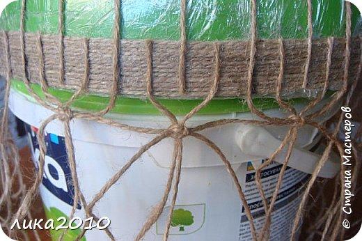 Мастер-класс Поделка изделие Абажур для кухни мини-МК Бусины Клей Краска Кружево Сутаж тесьма шнур Шпагат фото 4