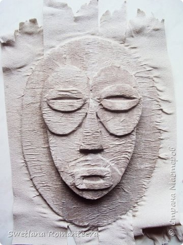 Здравствуйте, жители Страны Мастеров! Представляю вашему вниманию две маски, сделанные из картона. фото 8