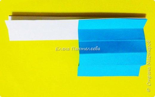 Продолжая тему 70-летия победы, предлагаю еще одну авторскую разработку по оригами- Российский флаг. фото 14