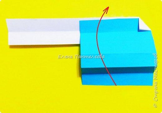 Продолжая тему 70-летия победы, предлагаю еще одну авторскую разработку по оригами- Российский флаг. фото 15
