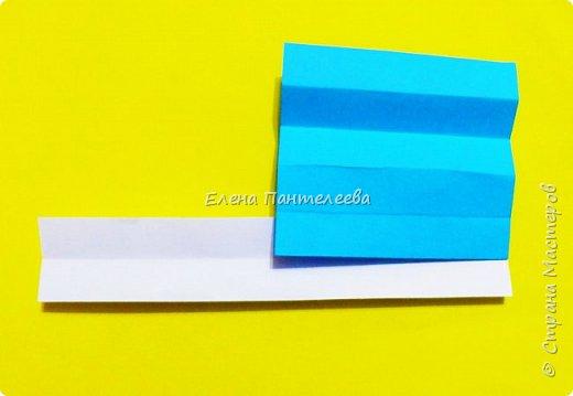 Продолжая тему 70-летия победы, предлагаю еще одну авторскую разработку по оригами- Российский флаг. фото 16