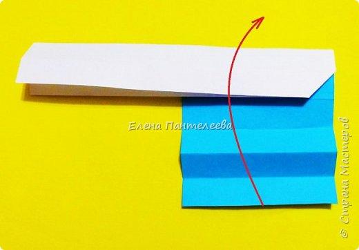 Продолжая тему 70-летия победы, предлагаю еще одну авторскую разработку по оригами- Российский флаг. фото 17