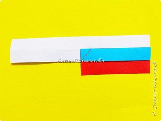 Продолжая тему 70-летия победы, предлагаю еще одну авторскую разработку по оригами- Российский флаг. фото 24