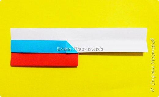 Продолжая тему 70-летия победы, предлагаю еще одну авторскую разработку по оригами- Российский флаг. фото 26