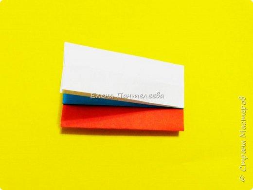 Продолжая тему 70-летия победы, предлагаю еще одну авторскую разработку по оригами- Российский флаг. фото 28