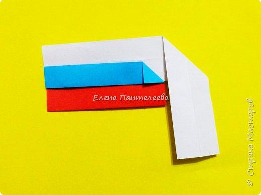 Продолжая тему 70-летия победы, предлагаю еще одну авторскую разработку по оригами- Российский флаг. фото 29