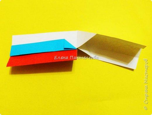 Продолжая тему 70-летия победы, предлагаю еще одну авторскую разработку по оригами- Российский флаг. фото 30