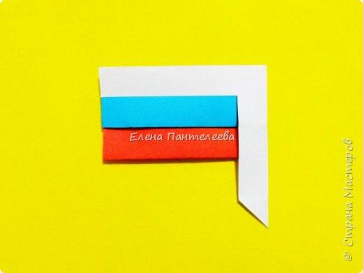 Продолжая тему 70-летия победы, предлагаю еще одну авторскую разработку по оригами- Российский флаг. фото 35