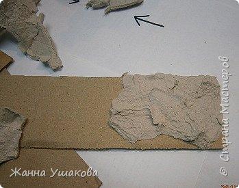 Декоративный камень своими руками из картона