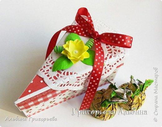 """Серия Коробочек с сюрпризом """"Кусочек тортика""""! Внутри может разместится денежка и сладкий подарок! фото 3"""