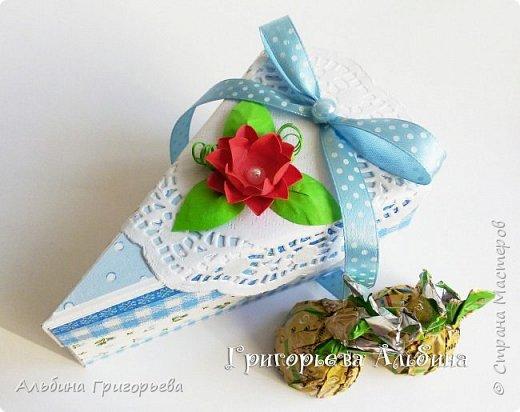 """Серия Коробочек с сюрпризом """"Кусочек тортика""""! Внутри может разместится денежка и сладкий подарок! фото 5"""
