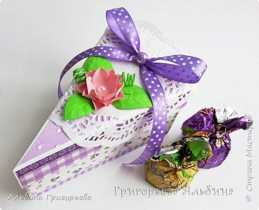 """Серия Коробочек с сюрпризом """"Кусочек тортика""""! Внутри может разместится денежка и сладкий подарок! фото 7"""