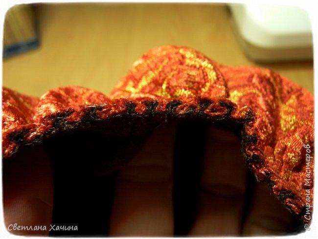 Гардероб Мастер-класс Шитьё Повойник  как я его шила Ткань фото 8