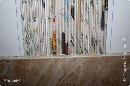 Мастер-класс Плетение Ровное квадратное дно Бумага газетная Трубочки бумажные фото 4