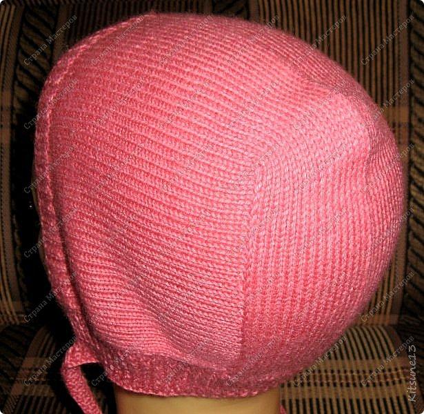 """Добрый день всем жителям и гостям Страны. На весну для моих крестниц Машунь (старшей 7 лет, младшей 8 месяцев) связались шапочки. Первая шапочка вязалась по картинке, так как надо было повторить шапочку, связанную изначально крючком <a href = """"http://www.liveinternet.ru/users/kajo_oschka/post318107157/""""> cсылка. </a> фото 11"""