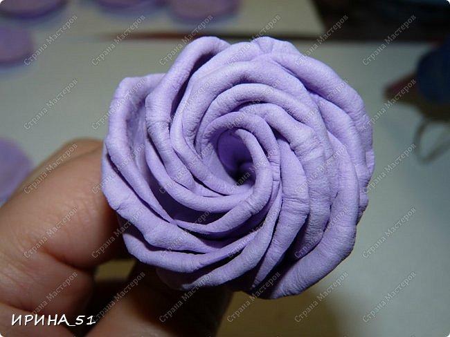 Здравствуйте! представляю Вам Мк по изготовлению розы из фома. фото 14