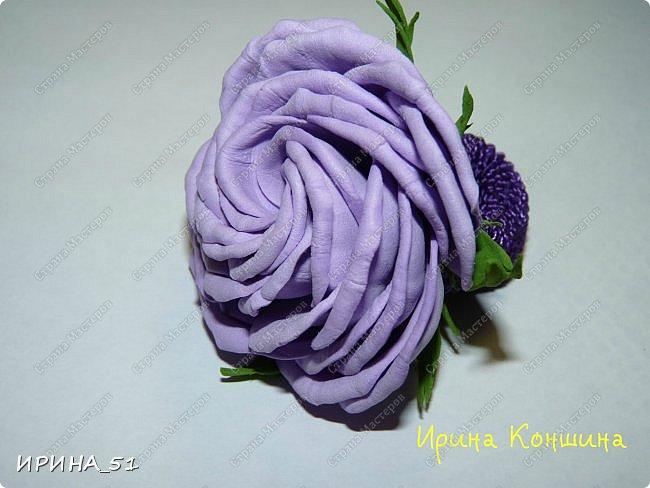 Здравствуйте! представляю Вам Мк по изготовлению розы из фома. фото 26