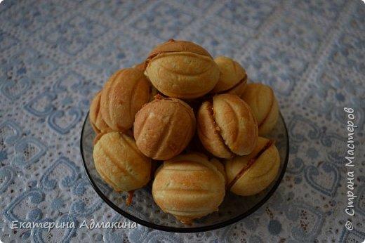 Кулинария Рецепт кулинарный Орешки со сгущенкой Продукты пищевые