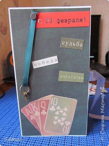 Вот делюсь с вами моими подарками на 23 февраля нашим любимым мужчинам. У меня, как всегда, была масштабная работа 11 шоколадниц. 3 на работу и 3 друзьям, а остальные мужчинам моей семьи! Нашла на СМ прекрасный на мой взгляд мастер класс по шоколадницам https://stranamasterov.ru/node/637452?c=favorite, а в нем ссылку на блог http://rusaliya.blogspot.ru/2013/02/blog-post_25.html чем собственно и пользовалась при создании шоколадниц. Первая шоколадница ушла к моему начальнику, он человек серьезный - ему и рубашку с галстуком получить))) фото 14