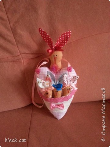 Сердце -зайчики фото 4