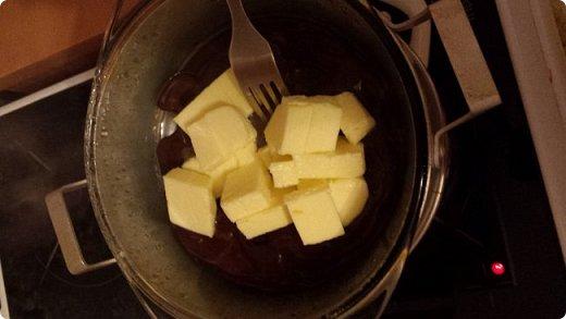 Этот рецепт я нашла на просторах интернета,поэтому на права не претендую,просто просят поделиться рецептом(делюсь):  И так ингредиенты: Шоколад 100гр. Сахарный песок 6 ложек Масло сливочное(несоленое) 100гр. Яйцо куриное 3шт. Мука 4ст.л.  фото 5